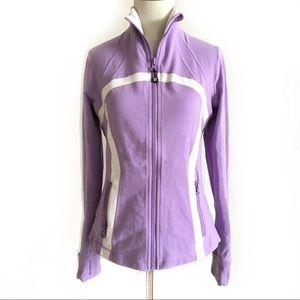 Lululemon | lavender and white define jacket 8